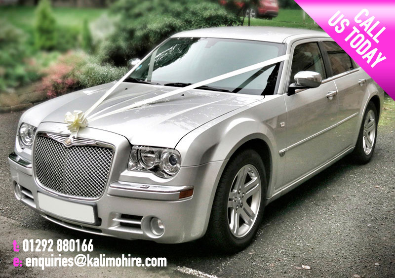 Silver Chrysler Wedding Cars